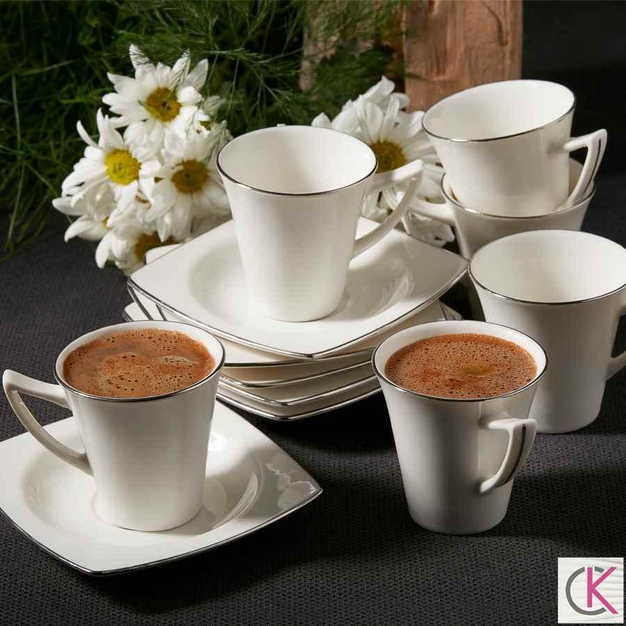Karaca Pontus 6 Kişilik Kahve Fincanı