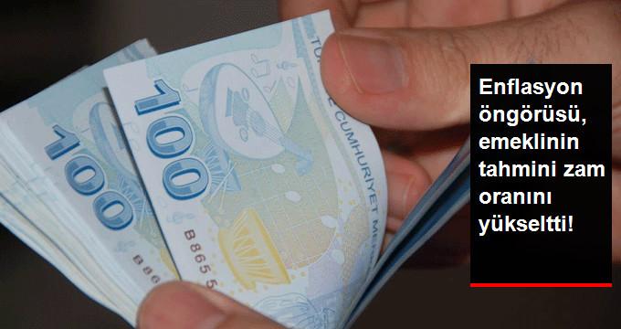 Enflasyon öngörüsü emeklinin tahmini zam oranını yükseltti!