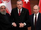 Erdoğan üçlü zirve öncesi Putin ve Ruhani ile görüştü