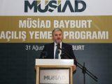 MÜSAİD Başkanı Kaan: Borca dayalı büyüme oldu