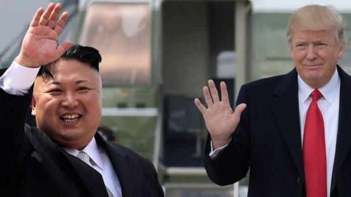 Trump'tan Kim Jong-un'a övgü