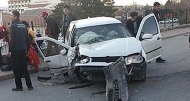 Kırşehir'de otomobil devrildi: 1 ölü