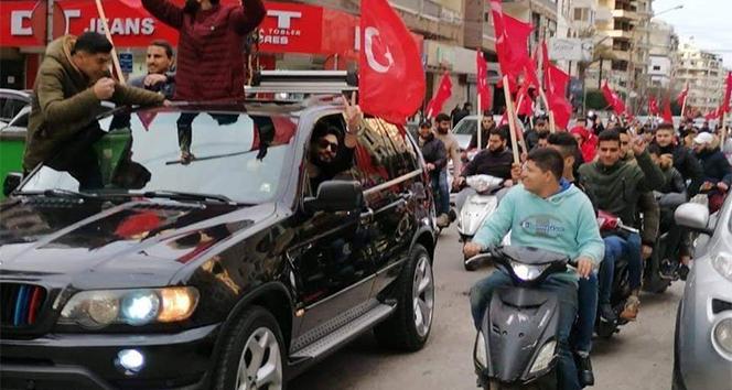 Lübnan'da Bahar Kalkanı Harekatı'na destek konvoyu
